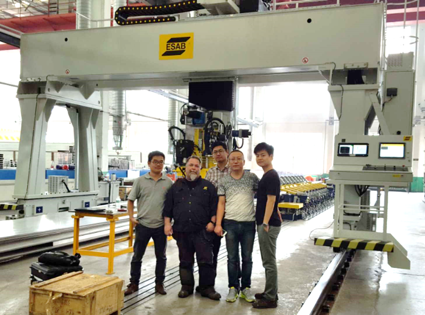 FSW TEAM IN LIAONING